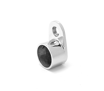 25mm Round Top Mounted Handrail Wall Tie