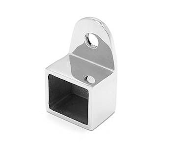 25x21mm Top Mounted Handrail Wall Tie