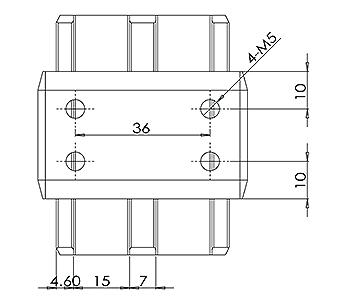 50x10mm Handrail Joiner