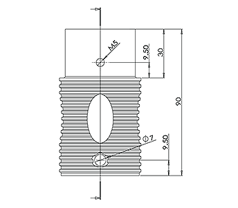 Round Spigot Extension
