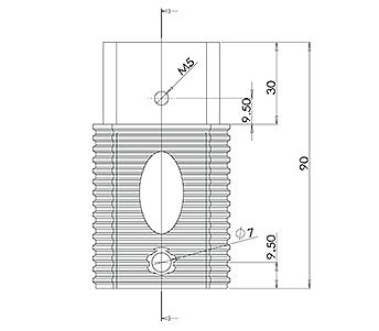 Square Spigot Extension
